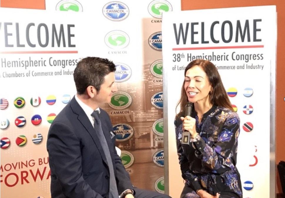 Miguel Moreno analiza la economía colaborativa en el Congreso Hemisférico Camacol Miami