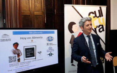 El consultor Juan Miguel Moreno muestra el potencial de la cultura para el crecimiento de Almería